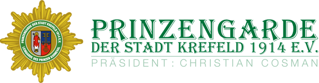 Website Logo der Prinzengarde
